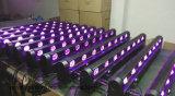 barre de faisceau lumineux de disco d'étape de 8PC 10W DEL