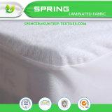 Cuscino imbottente molle all'ingrosso del coperchio del cappello a cilindro del materasso del tessuto di cotone della fibra di poliestere sottilmente