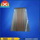 Dissipatore di calore di rame del condotto termico dell'alluminio 6063