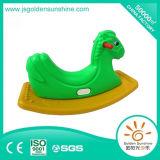 Jouet de oscillation en plastique d'amusement de cheval d'oscillation de matériel d'intérieur de cour de jeu