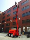 10 m Construction Field Intelligent LED Light Tower Rentals