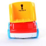 아이를 위한 미소 마스크 플라스틱 장난감 전차는 재미를 본다