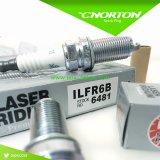 Les bougies d'allumage de fiche d'iridium de laser de Ngk 6481 Ilfr6b 6481 Ilfr6b ajustent vers le haut RC