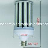 IP65 Waterproof a luz livre do milho do diodo emissor de luz 80W do ventilador pequeno do tamanho