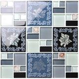 Buon mosaico di vetro di spessore delle mattonelle di pavimento della decorazione della Cina 30*30cm