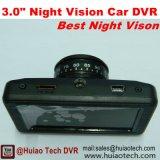 """Новый 3.0 """" полный автомобиль DVR C.P.U. черного ящика автомобиля HD 1080P, G-Датчик, ночное видение, паркуя видеозаписывающее устройство цифров черточки вагона управления"""