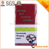 Het niet-geweven Bloemen & Verpakkende Document Nr 12 Bourgondië van de Gift