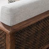 Wohnzimmer-Möbel-Rattan-Sofa-gesetzte Möbel B03-3