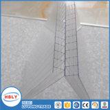 Панель поликарбоната большой сопротивляемости ударам двойной замороженная стеной строя