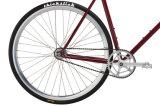 Retro örtlich festgelegtes Gang-Fahrrad-örtlich festgelegtes Fahrrad