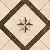 Mattonelle di pavimento di ceramica Polished di colore delle mattonelle di pavimentazione multi