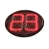 Sinal vermelho elevado do temporizador da contagem regressiva do verde amarelo de brilho 400mm