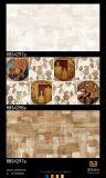 Azulejo de cerámica rústico impermeable de la pared del suelo de la inyección de tinta del material de construcción 3D
