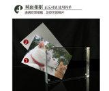 Marcos de acrílico claros magnéticos de la foto, sostenedor del cuadro del lucite, tablero de la mesa de acrílico