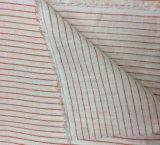 100%Linen raya la tela de la impresión para las materias textiles del hogar de la ropa