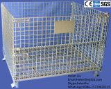 Geschweißter Draht-zusammenklappbarer Behälter-Masse-Ineinander greifen-Voorratsbehälter für Lager-Verbrauch