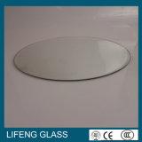 6mm 8mm 10mm 12mm rond/glace Tempered conique dessus de table de cercle