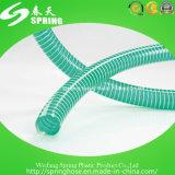 Boyau spiralé en plastique flexible d'aspiration d'helice de PVC de qualité