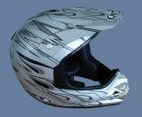 De Helm van het volledig-gezicht (121-zilver)