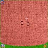 Домашним сплетенное тканьем нанесение покрытия на ткань ткани ткани сплетенное полиэфиром водоустойчивое Flocking ткань Fr слепая для занавеса окна гостиницы