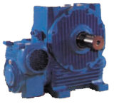 Cduw Cone Worm Gear Reducer mit Two Stages