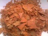 Le rouge s'écaille fer du sulfure 60% de sodium haut