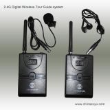 2.4G Digital Wireless Portable Transmitter Tour Guide System