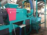 Plastik, der das Waschen zerquetscht, Maschine für überschüssigen pp.-PET Beutel aufbereitend