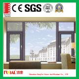 Het het geluiddichte Openslaand raam van het Aluminium/Venster van het Aluminium