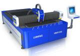 Máquina de estaca do laser da fibra da elevada precisão para o metal