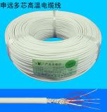 Высоким кабель силикона 2 Temeprature защищаемый сердечником