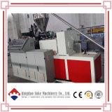 Máquina de Extrusora de Perfil de Folha de Tubo de Tornoirão Individual / Twin Plástica