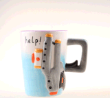 [هوليدي جفت] منتج حجريّ خزفيّة قهوة شام إبريق لأنّ أطفال