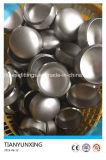 Chapeaux sans joint soudés par bout de l'acier inoxydable 304L de garnitures de pipe de norme ANSI