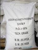 Grado de la tecnología de la pureza SHMP del origen el 68% de China para de cerámica