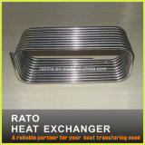 Bobina de evaporador aire acondicionado del acero inoxidable y del cobre
