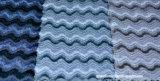 Tissu en gros de velours de polyester pour la décoration de sofa