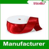 Fabricación colorida al por mayor de la cinta del satén del poliester en China