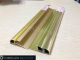 Testo fisso di alluminio delle mattonelle del raggio nei colori anodizzati differenti dell'oro