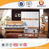 Base di legno classica dell'insieme di camera da letto della mobilia di alta qualità (UL-C01)