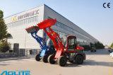 chargeur chinois de roue de la capacité 1000kg avec l'engine de Xinchai facultative