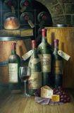 Peinture à l'huile de l'Encore-Vie (006)