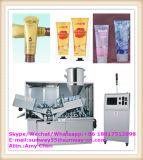 Automaticlly crema de alta velocidad / pasta de dientes / Medical Oinment / Adhesive / Polaco de zapatos Abl y Pbl laminado tubo de llenado y sello de la máquina-2017