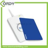 13,56MHz Impressão de plástico offseting PVC RFID NTAG213 Cartão inteligente NFC