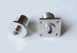 Parti di rame del connettore di comunicazione personalizzate precisione poco costosa del metallo di fabbricazione con il nichel di placcatura sulla superficie