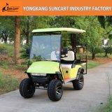 Nuevo carro de golf de Ezgo 4 Seater del diseño, carro de golf eléctrico del mecanismo impulsor de 4 ruedas, carro de golf utilitario con el tirón trasero Seater