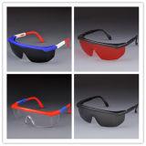 Espetáculos protetores de trabalho do visitante da lente do fumo dos óculos de proteção