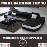 Sofà di cuoio moderno di lusso per il salone