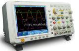 Osciloscopio del almacenaje del USB de la pantalla táctil del canal de Digitaces 4