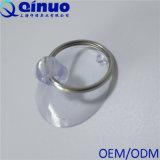 Copo da sução do PVC com o gancho do anel do metal